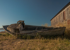 The Old Boat of Semiahmoo photo by NW Vagabond