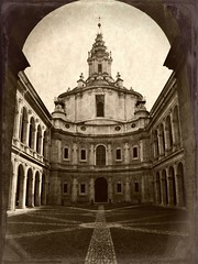 Sant'Ivo alla Sapienza photo by Carlo Tancredi