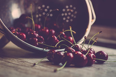 time for cherries... photo by clo dallas
