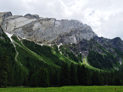 Vue depuis le refuge de Solalex, Switzerland at Restaurant Du Miroir d'Argentine