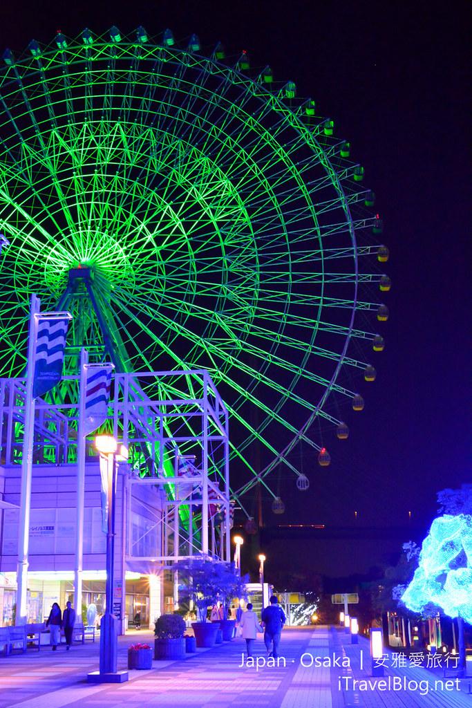 《大阪景点推荐》日本大阪星光游,天保山摩天轮与海游馆!