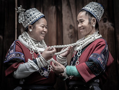 Guizhou : Weng Xiang, Gejia Miao portraits #20 photo by foto_morgana