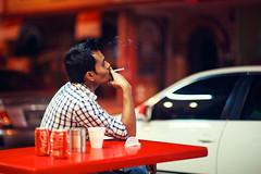 Chillin' Outside Mustafa photo by Jon Siegel