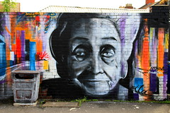 Bristol Graffiti - Painted at Upfest 2013 - Graffiti Artist: Frode (Frode Milano) - 'Rita's Thoughts' photo by Andy_Hartley