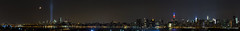 Manhattan at night on 9/11/2013 photo by Adrian Cabrero (Mustagrapho)