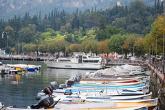 The harbour at Garda Town photo by Halliwell_Michael (Many thanks for visits)