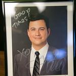 Jimmy Kimmel Auction Print