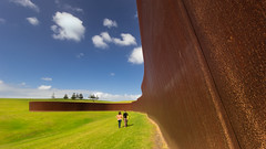 The Great Wall of Corten photo by Alex Schwab