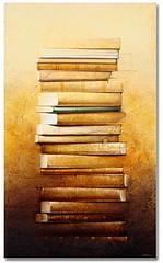 peinture-de-livre_pile-de-livre_couarraze_colonne-du-savoir