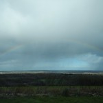 One advantage of all the rain, great rainbows<br/>15 Feb 2014