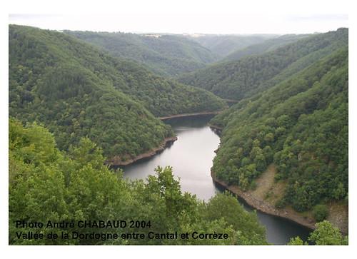 Vallée de la Dordogne entre Cantal et Corrèze