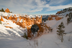 A Snowy Natural Bridge [Explored] photo by SandyK29