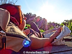 BBQ Sunday @ Westerpark photo by AmsterSam - The Wicked Reflectah