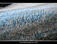 Alaska - Mind the blue gap photo by Frédéric Sallée