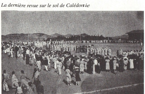 BP - 1941- dernière revue sur le sol de Noumea - Mémoires de Roger Ludeau
