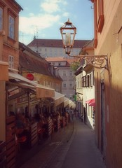 Skalinska Street, Zagreb photo by vesna1962