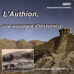 Bibliographie- L'Authion, une montagne d'histoire(s) - Les carnets de l'Amont n° 2