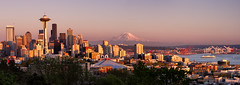 Seattle Waterfront Panorama photo by Michael Riffle