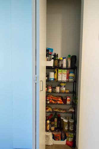Kitchen/Pantry Project - Pantry Before