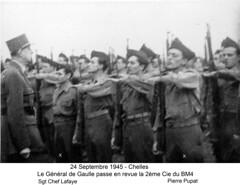 1945 24Septembre Chelles BM4 2èCie - Fonds E. Gauthier