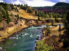 Yellowstone River (Explored) Thank you for 38,000 + views photo by alsimages1