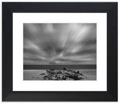 Windy Beach Framed photo by Melissa Fague - Nature Photographer - Delaware