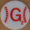 Major League Baseball Scrabble Letter G