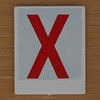 Hangman Red Letter X
