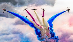 Red Arrows photo by Leigh Feaviour