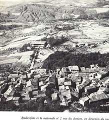 1944 - Italie Radicofani et nationale 2 vue du donjon Gaujac