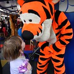 Rubbing noses with Tigger<br/>28 May 2014