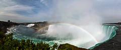 Rainbow in the Horseshoe photo by Matt Molloy