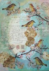 """Memories"" ~ Original Mixed Media Art Board photo by GreenDotCreationsGr"