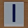 Hangman Blue Letter I