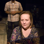 LaShawn Banks and Penny Slusher in OLD GLORY at Writers Theatre. Photo by Michael Brosilow.