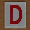 Hangman Red Letter D