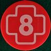 Clock number 8