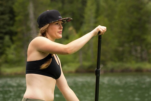 9/16/14- SUPing on String Lake, GTNP