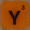 WORDS with friends letter Y