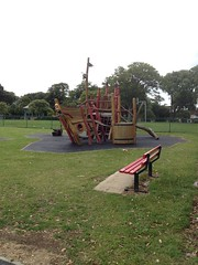 pirate ship with mermaid and seagull, Harwich photo by looper23