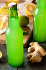 Organic Ginger Ale Soda photo by brent.hofacker