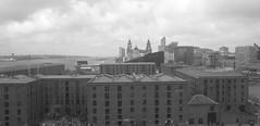 Liverpool, Albert Dock, Liverbuildings, West Tower, River Mersey, Wirral photo by grahampaul78