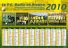 FCB calendrier 2010