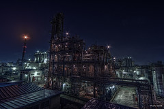 """HDR Photo: Factory night view """"Unrealistic"""" photo by uemii2010"""