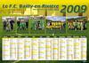 FCB Calendrier 2009