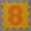 Foam Play Mat Number 8