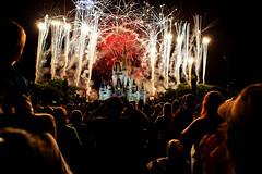 Fireworks @ Magic Kingdom - explore-2014-07-10 photo by Saibal K. Ghosh