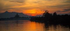 Sunset over Kuching photo by DickieK