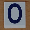 Hangman Blue Letter O