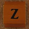 Rubber Stamp Letter Z